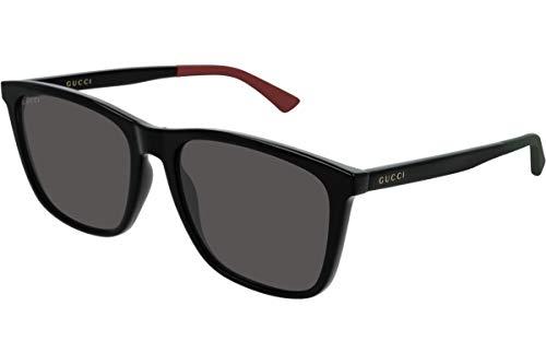 Gucci Sonnenbrille Gg 0404 S-008 Schwarz/Grau Schwarz/Grau/Schwarz
