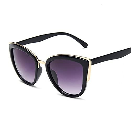 LUOXUEFEI Gafas De Sol Gafas De Sol Para Mujer, Gafas De Sol Redondas Para Mujer, Espejo