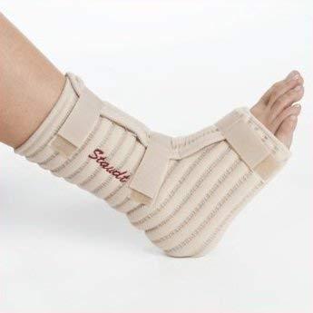 STAUDT Knöchel-Bandagen - 2 Stück - Größe XL gegen Gelenkschmerzen, Arthritis oder Arthrose in den Knöcheln - für nächtliche Anwendung - SomniShop-Set