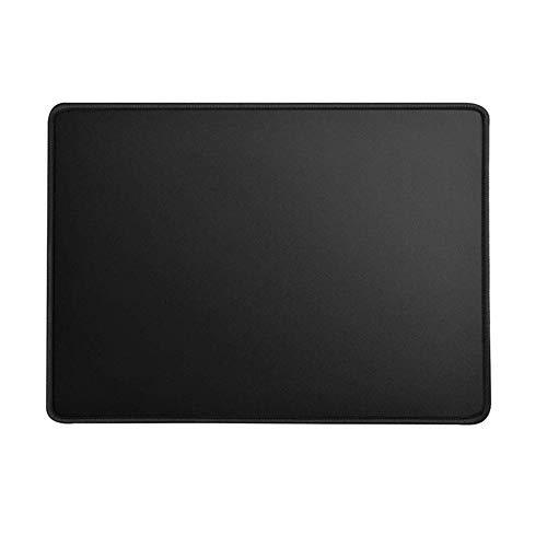 Mauspad Größe S 22 x 18 cm, Stoff Mousepad Farbe Schwarz, Klein, geeignet für Büro und Gaming Maus
