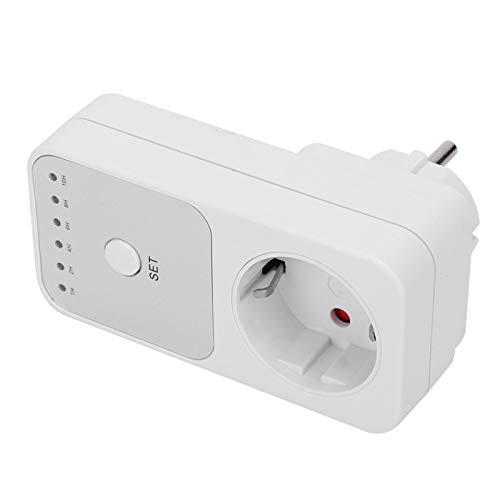 Temporizador enchufable Interruptor de toma de corriente Temporizador automático Interruptor de toma de corriente Interruptor de temporizador de cuenta regresiva duradero Accesorios