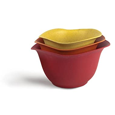Architec Purelast Mixing Bowl, Red to Yellow, Set of 3