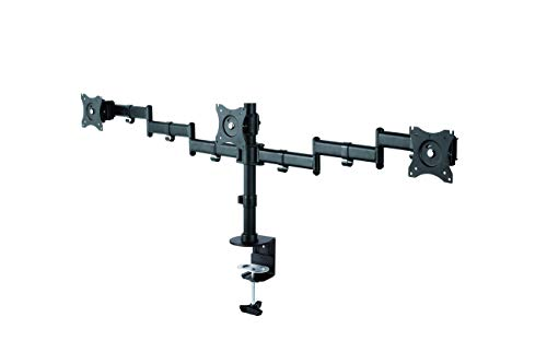 Newstar NM-D135D3schwarz Monitor Tischhalterung schwarz dreifach 46661 24kg