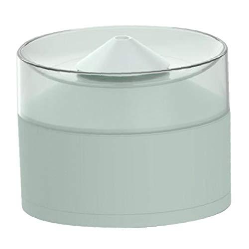 Alimentador del agua del animal doméstico del dispensador del agua de bebida del perro Fuente automática inteligente gato silencioso agua de la taza azul