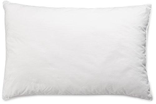 Amazon Basics Almohada con cordón, Funda: 100% algodón, 50x75 cm