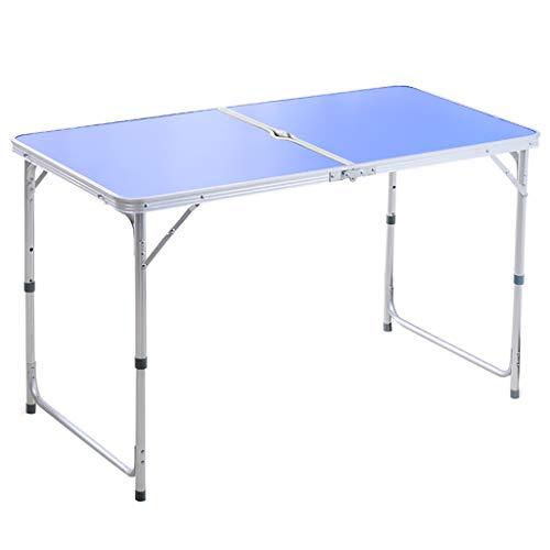Opklapbare tafel Outdoor Draagbare Stal Tafel Stallen Thuis Eettafel Stoelen Eenvoudige Propaganda Draagbare Lange Tafel Kleine Tafel