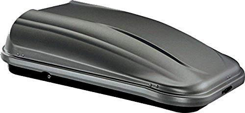 Unbekannt Junior Dachbox für Auto Pre Anthrazit 320 132 x 78 x 36 cm, 100{765df0704fbc066003f721105c919e70dcb351fd59cfa86712cdf63e884265ef} Made in Italy - 320 Liter