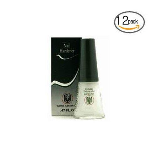 Quimica Alemana Nail Hardener 0.47oz (Pack of 12) w/Free Nail File