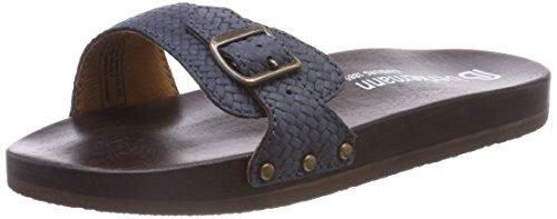 Berkemann Damen Hippie-NO-Sandale Pantoletten, Blau Blau, 36 1/3 EU