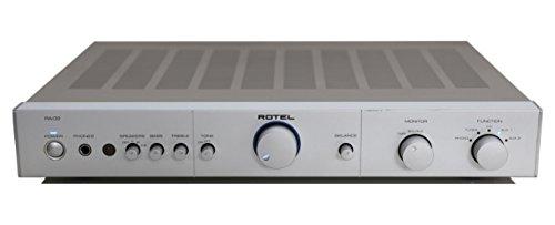 Rotel RA-02 Stereo Verstärker in silber