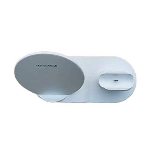 Cargador inalámbrico rápido estación de carga rápida para iPhone 11 11 Pro XR XS Max 8 para Apple Watch 2 3 4 5 para AirPods Pro