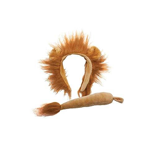 Animal Ears & Tail Set - Lion Kids Fancy Dress