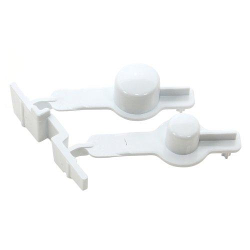 Sèche-linge WHIRLPOOL 481251318172 Bouton poussoir, blanc