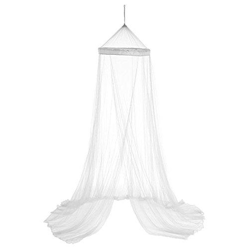 Paris Prix Atmosphera Créateur d'intérieur - Ciel de Lit 60x250cm Blanc