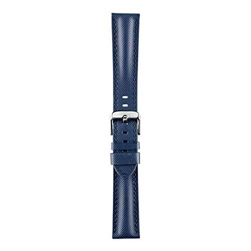 Morellato Cinturino unisex, Collezione SPORT, mod. Riding, in vera pelle idrorepellente - A01X4749797, 18mm