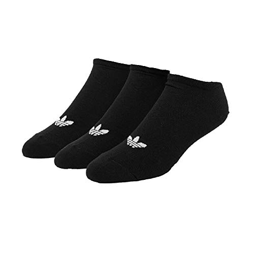 Adidas Trefoil Liner Socks Socken 3er Pack (43-46, black/white)