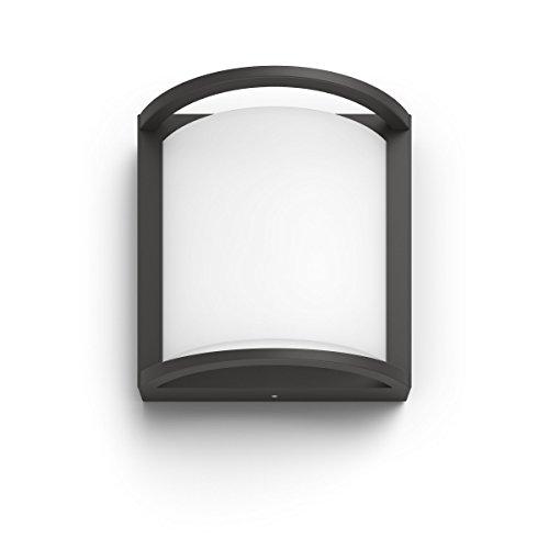 Philips Samondra IR Aplique para exteriores, blanca calida, gris antracita
