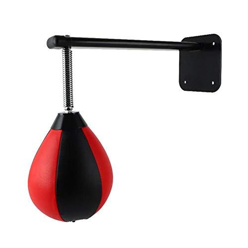 Riiai Bolsa de velocidad de boxeo, bola de boxeo montada en la...