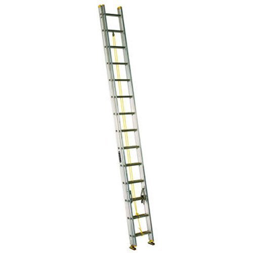 Louisville Ladder AE3224 Aluminum Extension Ladder 250-Pound Capacity, 24-Feet