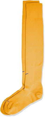 Nike SX5728 - Calze Unisex Adulto, Oro (University Gold/Royal Blue), Large