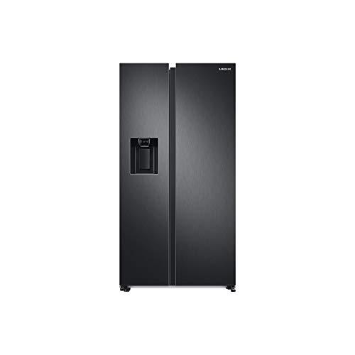 Samsung RS68A8531B1/EF Kühlschrank Side by Side ohne Wasseranschluss, 409 Liter Kühlschrank, 225 Liter Gefrierfach, 351 kWh/Jahr