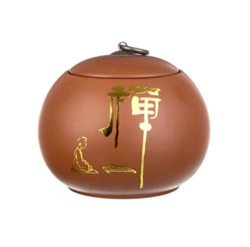Qnmbdgm Theeblikjes-bewaarflessen glazen theedose-theeservies Zero Accessoires TeaSet-jerrycan keramiek verzegelde dozen thee-opslagtanks