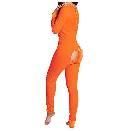 All in One Winter Warm Pyjama Cartoon Einhorn Einteiler Kapuze Nachtwäsche Tier Pyjama für Frauen Gr. Small, Tiger Einteiler
