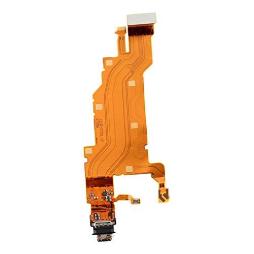Homyl Substituição Do Cabo Flexível Da Porta Da Doca De Carregamento USB Para Sony Xperia XZ2 Premium