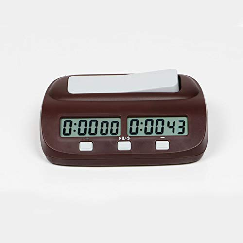 GUOTU NorthStarMatrix Professional PQ9907S Reloj de ajedrez Digital Temporizador de Cuenta progresiva con Reloj