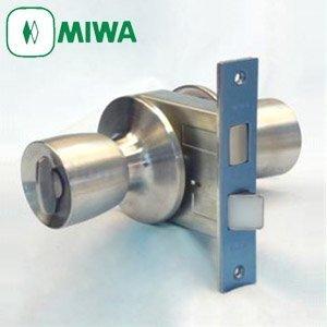 MIWA(美和ロック) HMD-3型本締付モノロック錠 ドアノブ 交換 取替え 室外:空ノブ 室内:サムターンHMシリーズ 鍵無し