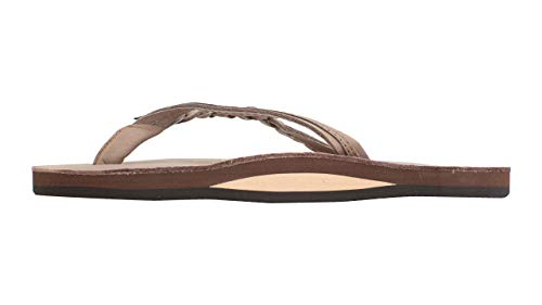 Rainbow Sandals Women's Flirty Braidy Premier Leather w/Single Braided Strap