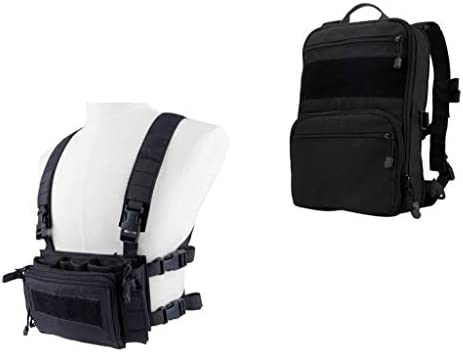 Chest rig with backpack