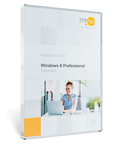 MS Windows 8.1 Pro 32 bit & 64 bit Vollversion - Original Lizenzschlüssel - bootfähige DVD + Anleitung von TPFNet®