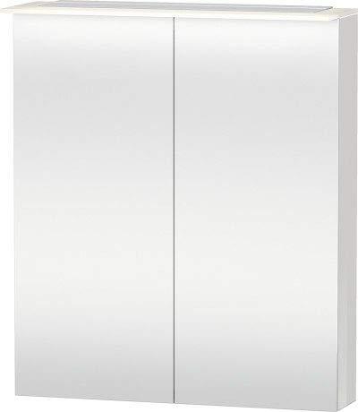 Duravit Spiegelschrank Happy D.2 138x650x 760mm, 2 Türen, amerik.nussbaum, H2759301313