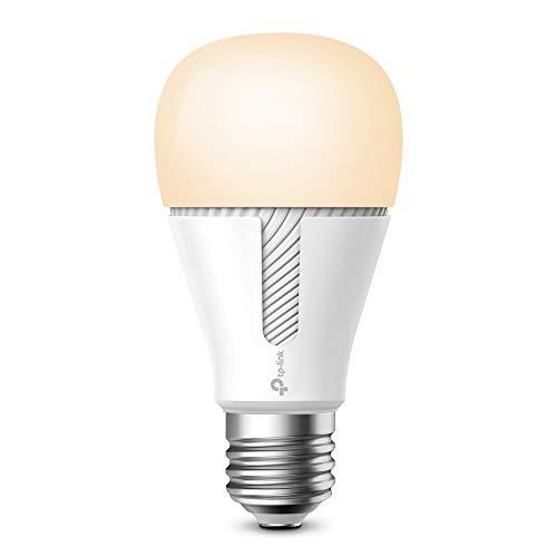 TP-Link KL110 Kasa smarte WLAN Glühbirne dimmbar, warmweißes Licht, E27 Lampenfassung, 10W, kompatibel mit Amazon Alexa, Google Home und IFTTT, kein Hub notwendig, Kasa-App [Energieklasse A+]