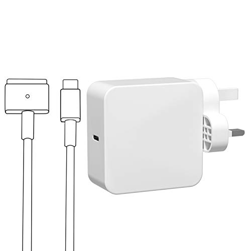 Compatible with Mac Book Air Charger, MagSafe 2 Power Adapter for Macbook Pro with 13-inch Retina display and Mac book Air 11 inch & 13 inch LATE 2012 65W 45W Power