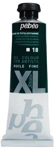 PEBEO XL Studio Huile Fine, phtalocyanine Vert émeraude