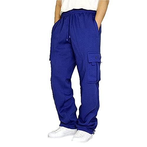 N\P Pantalones de deporte al aire libre de los hombres pantalones de correr recto cilindro activo pantalones de entrenamiento