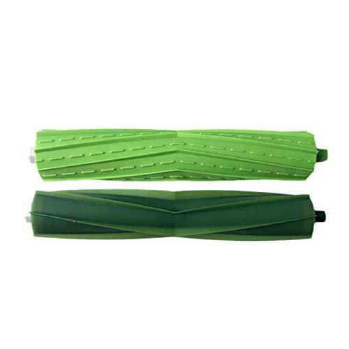 WDGNY Accesorios de limpieza 2 rollos de cepillo para Roomba I7 E5 E6 Series Robot Aspiradora de repuesto de repuesto verde (color: gris) (color: gris) (color: gris) kit de cepillo (color: gris)