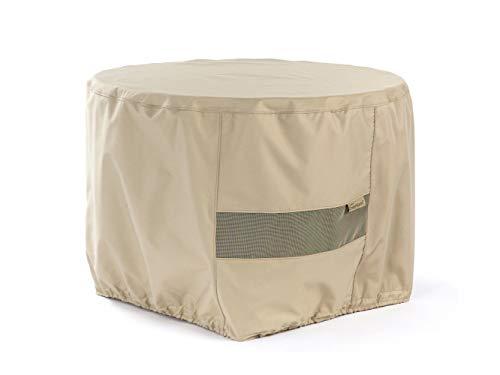 Covermates – Round Firepit Cover – 36DIAMETER x 25H – Elite Collection – 3 YR Warranty – Year Round Protection