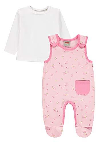 Kanz Baby-Mädchen T-Shirt 1/1 Arm Strampler, Rosa (Barely Pink|Rose 2560), (Herstellergröße: 68)