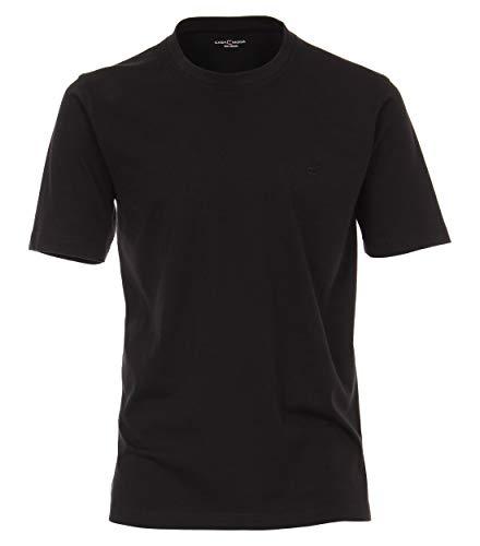 Casa Moda 092500 T-Shirt O-Neck NOS DoPa, 6XL, Schwarz - Uni
