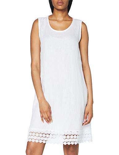 Cartoon Damen 1062/7384 Kleid, Weiß, 40