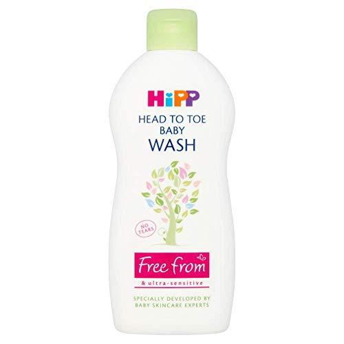 HiPP Head to Toe Baby Wash 400 ml (6 Stück)