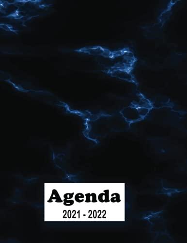 Agenda Scolaire 2021 2022: Agenda scolaire Primaire - College - Lycee - Université | Agenda semainier journalier | Emploi du temps | Calendrier | Agenda garçon fille