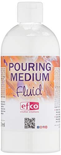efco 9318400 Pouring Fluid - Fluido acrilico per applicazioni di annaffiatura, acrylic, incolore, 500 ml