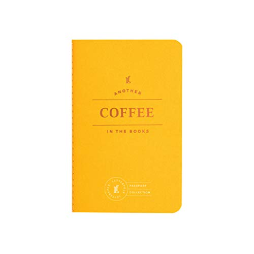 Coffee Passport Journal — Pocket-Sized Coffee Tasting Book (3.5' W x 5.5' H) by Letterfolk