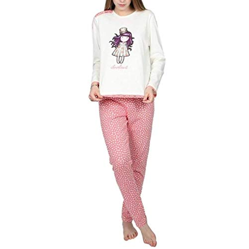Aznar Gorjuss Love Heart - Pijama Caja Regalo, niña/Adulto