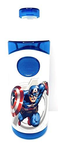 Marvel Avenger Botella de agua Capitán América Sport Botella 500ml