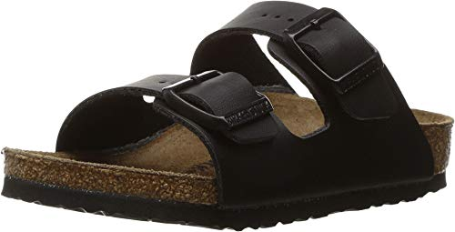Birkenstock Kids Girl's Arizona (Toddler/Little Kid/Big Kid) Black Birko-Flor 34 (US 3-3.5 Little Kid/Big Kid) Narrow